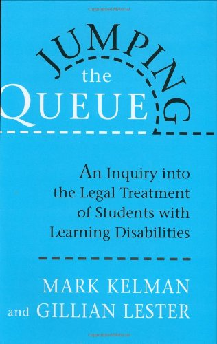 9780674489097: Jumping the Queue: An Inquiry into the Legal Treatment of Students with Learning Disabilities