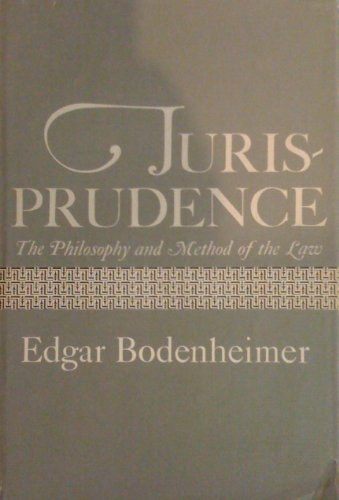 9780674490017: Jurisprudence: The Philosophy and Method of the Law, rev. ed