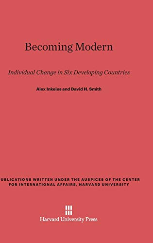 9780674499331: Becoming Modern: Individual Change in Six Developing Countries
