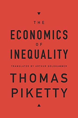 9780674504806: The Economics of Inequality