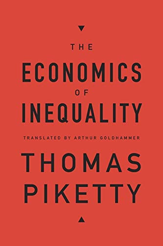 9780674504806: The Economics of Inequality