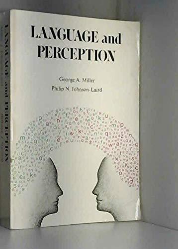 9780674509481: Language and Perception