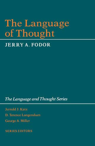 9780674510302: The Language of Thought (The Language and Thought Series)