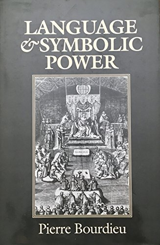 9780674510401: Language and Symbolic Power