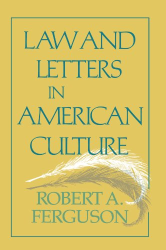 9780674514669: Law and Letters in American Culture