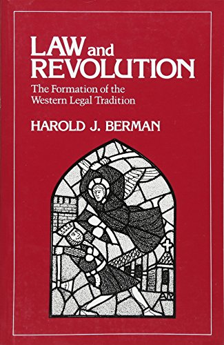 9780674517769: Law and Revolution: The Formation of the Western Legal Tradition