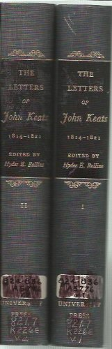 9780674527003: The Letters of John Keats, 1814-1821: Vols. 1 and 2