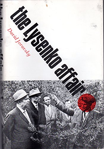9780674539853: The Lysenko Affair (Russian Research Center Studies, 61)