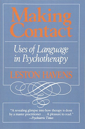 9780674543164: Making Contact: Uses of Language in Psychotherapy