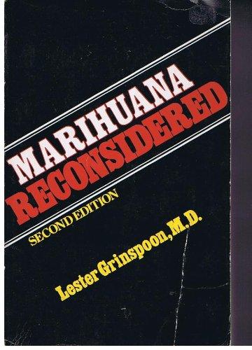 9780674548343: Marihuana [Marijuana] Reconsidered