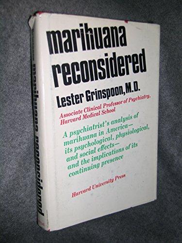 9780674548350: Marijuana Reconsidered