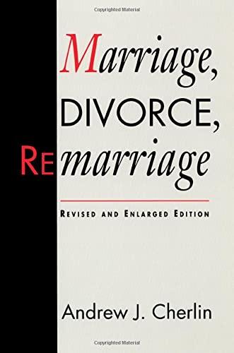 9780674550827: Marriage Divorce Remarriage Rev & Enl Ed