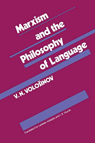 9780674550988: Marxism and the Philosophy of Language