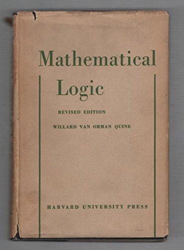 9780674554504: Mathematical Logic