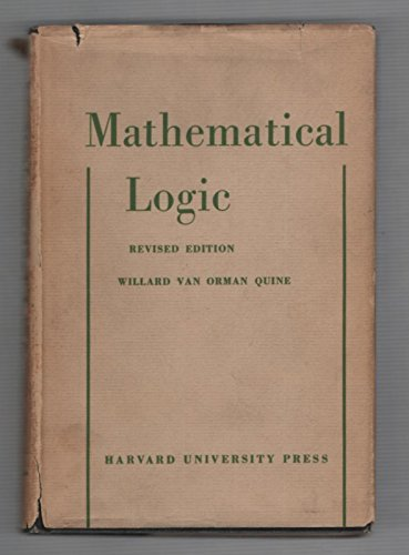 9780674554504: Mathematical Logic