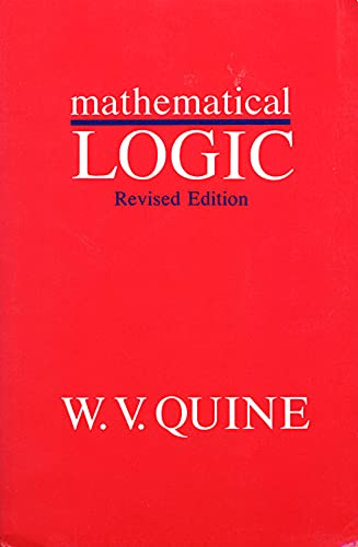9780674554511: Mathematical Logic, Revised Edition