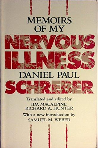 9780674565166: Memoirs of My Nervous Illness