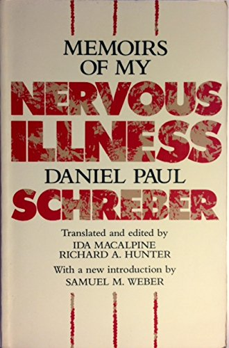 9780674565166: Memoirs of My Nervous Illness