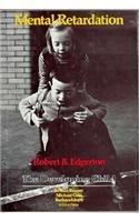 9780674568853: Edgerton: Mental Retardation (Cloth) (Developing Child)