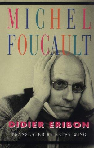Michel Foucault (9780674572867) by Didier Eribon