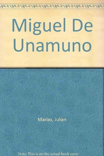 9780674574007: Miguel de Unamuno