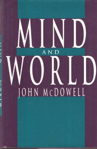 9780674576094: Mind and World (John Locke lectures)