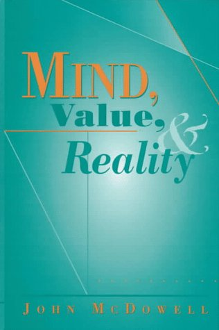 9780674576131: Mind, Value, and Reality