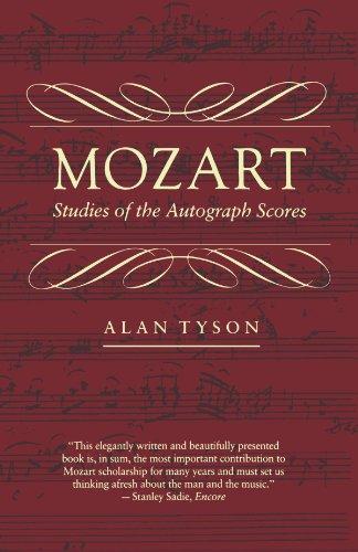 9780674588318: Mozart: Studies of the Autograph Scores