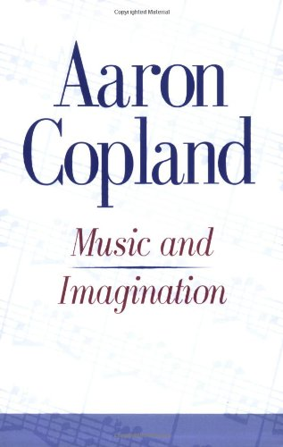 9780674589155: Music and Imagination (C.E.Norton Lectures)