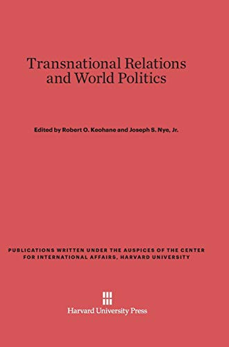 9780674593145: Transnational Relations and World Politics