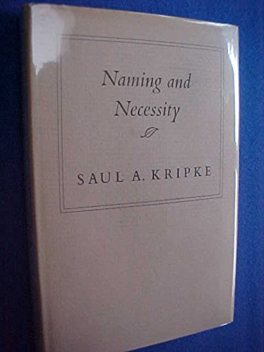 9780674598454: Naming and Necessity