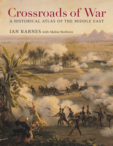 9780674598492: Crossroads of War: A Historical Atlas of the Middle East