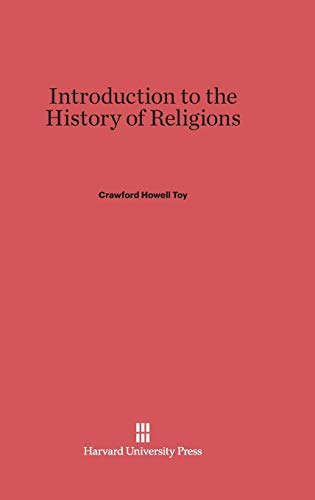 9780674599574: Introduction to the History of Religions