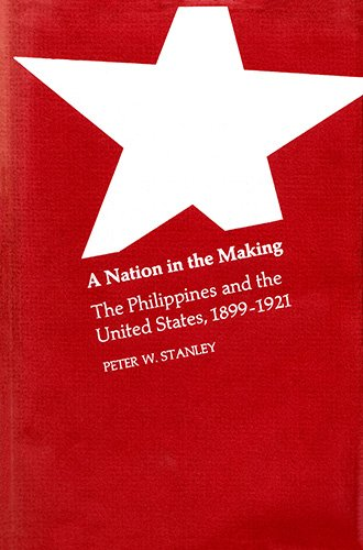 9780674601253: A Nation in the Making: The Philippines and the United States, 1899-1921 (Harvard studies in American-East Asian relations)