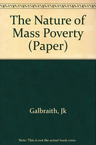 9780674605350: The Nature of Mass Poverty (Harvard Paperbacks)