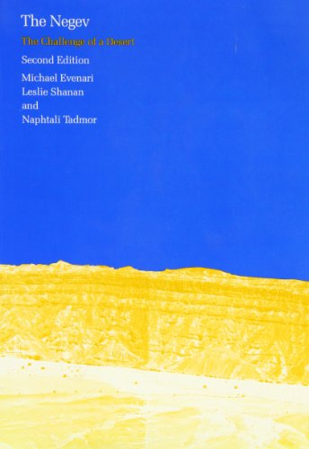 9780674606722: The Negev: The Challenge of a Desert, Second Edition