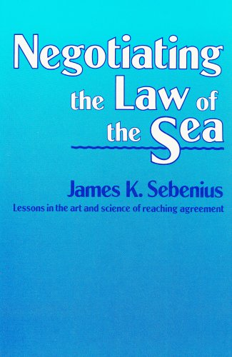 Negotiating the law of the sea.: Sebenius, James K.