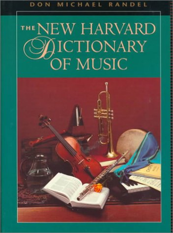 9780674615250: The New Harvard Dictionary of Music (Harvard University Press Reference Library)
