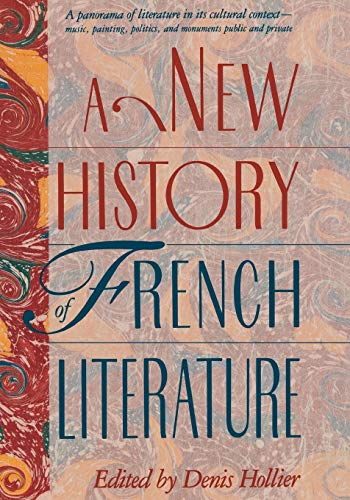 9780674615663: A New History of French Literature