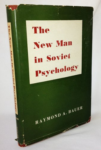 9780674617001: The New Man in Soviet Psychology (Russian Research Center Studies, No. 7)