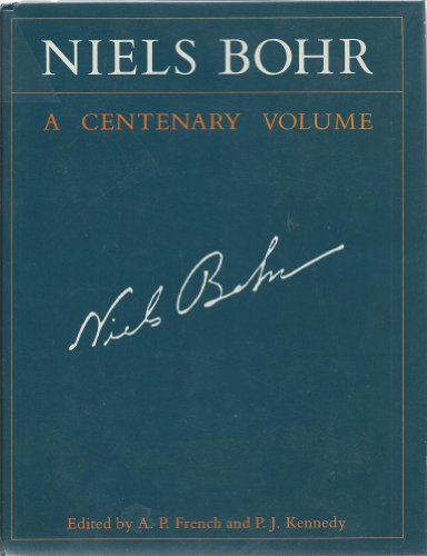 Niels Bohr: A Centenary Volume