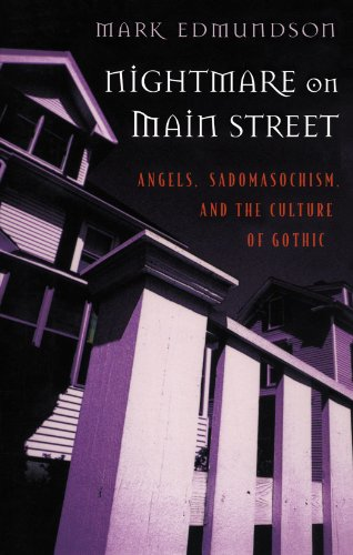 9780674624634: Nightmare on Main Street: Angels, Sadomasochism, and the Culture of Gothic