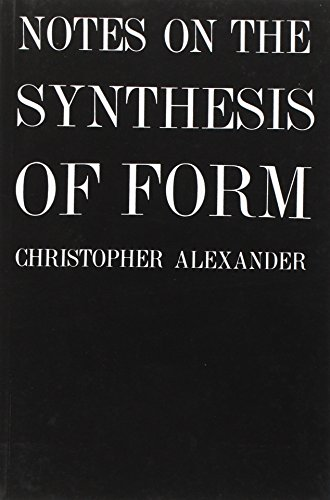 9780674627512: Notes on the Synthesis of Form