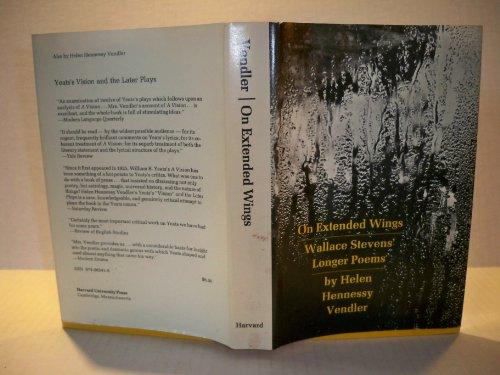 9780674634350: On Extended Wings: Wallace Stevens Longer Poems