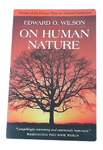 9780674634428: On Human Nature