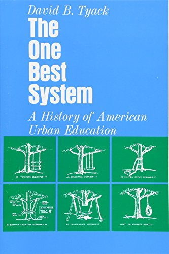 9780674637825: The One Best System: A History of American Urban Education