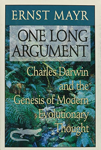 9780674639058: One Long Argument - Charles Darwin & the Genesis of Modern Evolutionary Thought (Cobee) (Cloth): Charles Darwin and the Genesis of Modern Evolutionary Thought (Questions of Science)