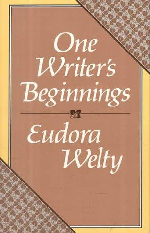 9780674639256: One Writer's Beginnings