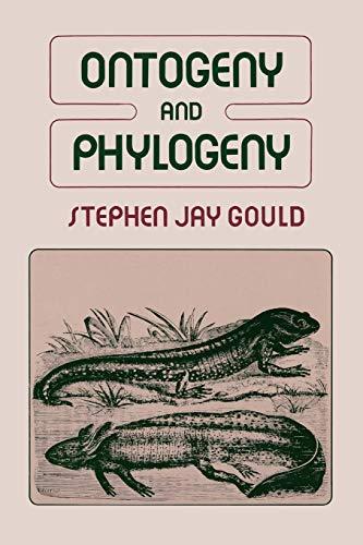 9780674639416: Ontogeny & Phylogeny (Paper)
