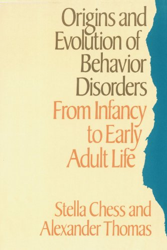 9780674644779: Origins and Evolution of Behavior Disorders: From Infancy to Early Adult Life